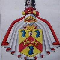 17th c. coats of arms of English baronets, English heraldic painter