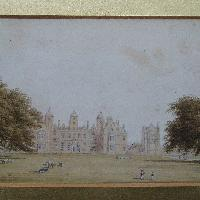 A view of Aston Hall, Birmingham, William Westall A.R.A