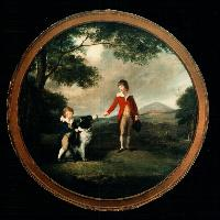 Portrait of Watkin and Charles Williams Wynn, William Parry A.R.A
