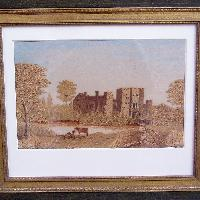 View of Hever Castle, English school