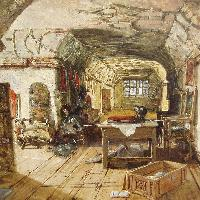 The Retainers' Gallery at Knole, Kent, Samuel Rayner