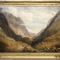 The Pass of Llanberis, Hugh Hughes