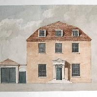 A proposal for a rectory at Milson, Shropshire, English architect, circa 1830