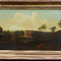 View of Ashby Lodge, Northamptonshire, After Nicholas Dall