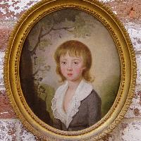 Portrait of a boy, Attributed to Francis Alleyne